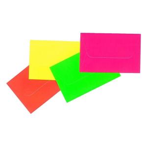 Névjegy fluoreszkáló boríték