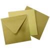 130x130 mm barna boríték