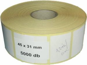 45x31 öntapadós címke