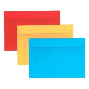 135x185mm színes boríték