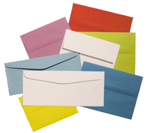 color envelope